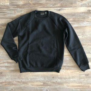 NWOT Classic Black Sweatshirt